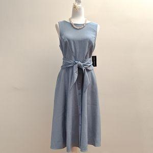 JESSICA HOWARD A-Line Tie Waist Midi Dress.